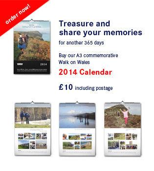 Walk on Wales 2014 Calendar