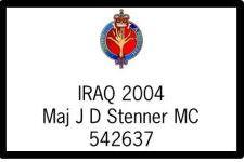 Maj J D Stenner MC