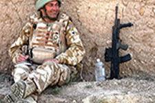 Lt Col R S M Thorneloe MBE